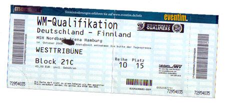 Deutschland - Finnland