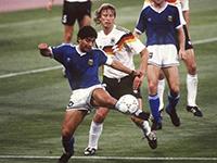Diego Maradona und Diego Buchwald: Finale 1990