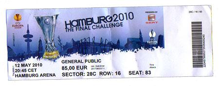 EL Finale Hamburg 2010