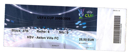 HSV - Aston Villa FC