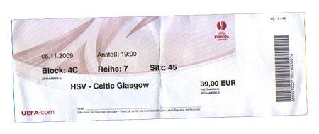 HSV - Celtic Glasgow