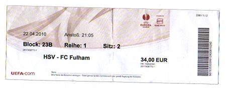 HSV - Fulham FC
