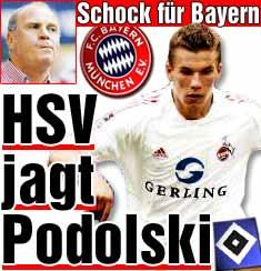 HSV jagt Poldi