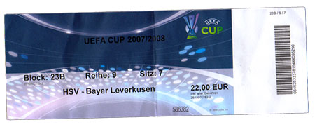 HSV - Bayer Leverkusen