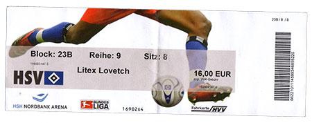 HSV - Litex Lovech