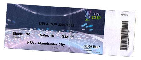 HSV - Manchester City