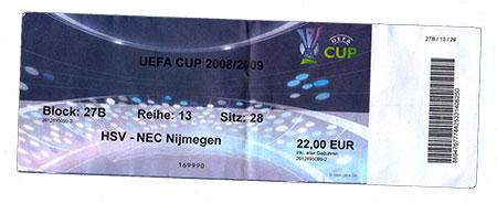 HSV - NEC Nijmegen