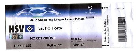 HSV - FC Porto