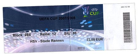 HSV - Stade Rennes