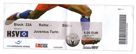 HSV - Juventus Turin