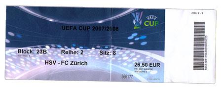 HSV - FC Zürich