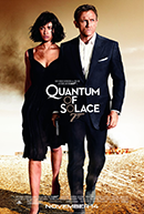 A Quantum Of Solace Poster