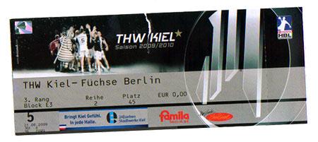 THW Kiel - Füchse Berlin