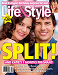 Tom & Katie Life & Style Cover